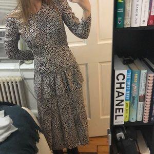 Alc leopard print dress